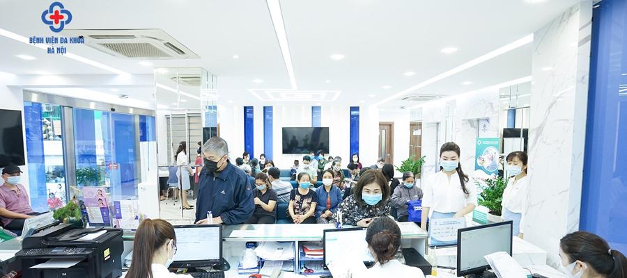Bệnh viện đa khoa Hà Nội - Nơi gửi gắm niềm tin của mọi người bệnh