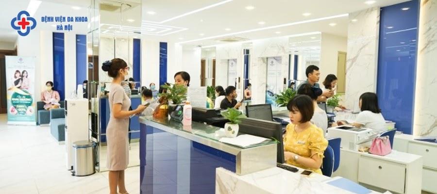 Bệnh viện Hà Nội là địa chỉ khám sỏi bàng quang uy tín