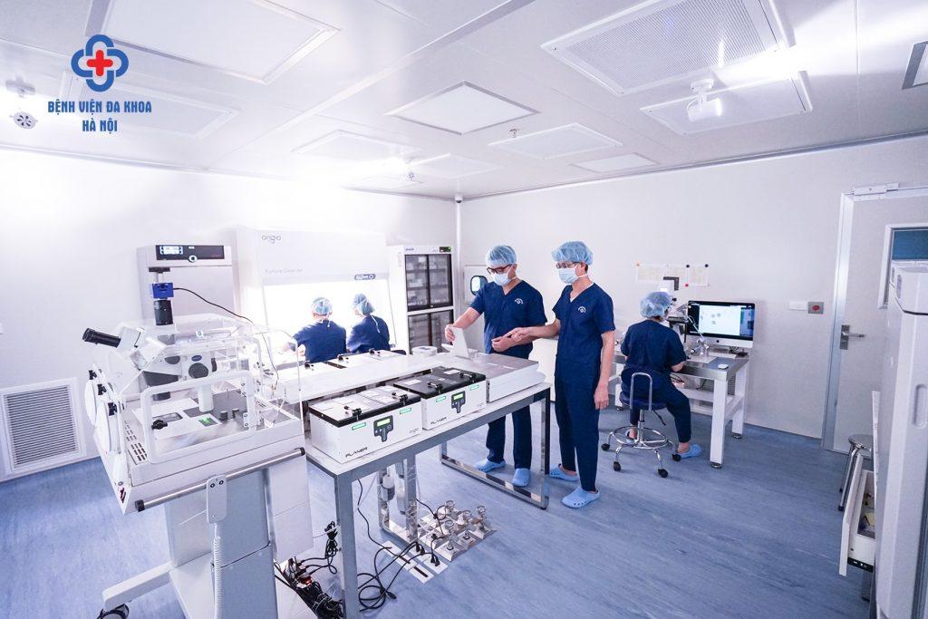 phòng lab ivf hà nội
